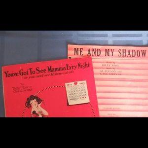 Sheet music - Favorites by Billy Rose